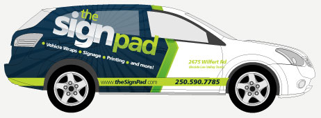 Car / SUV wraps & graphics in Victoria, BC