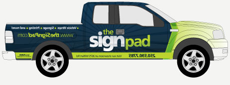 Work Truck Vehicle Wraps & Graphics in Victoria, BC