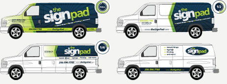 Work Van Vehicle Wraps & Graphics in Victoria, BC